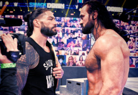 Drew McIntyre Defeats Jey Uso, Goes Nose-to-Nose with Roman Reigns