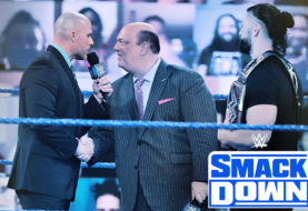 LIVE COVERAGE OF WWE SMACKDOWN ON FOX: PAUL HEYMAN CHALLENGES ADAM PEARCE TO A FIGHT ... LIVE ... TONIGHT!
