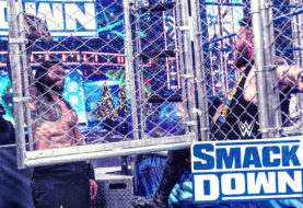 WWE Smackdown on FOX: Roman Reigns Defeats Kevin Owens in a Steel Cage Match