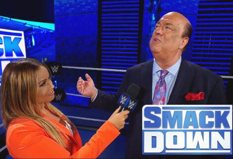 WWE Smackdown: Paul Heyman Addresses the Challenge of Cesaro