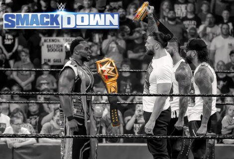 WWE Smackdown Opens with a Double Whammy: Paul Heyman Claims Brock Lesnar Fears Roman Reigns ... But Big E Wants to Compare Titles with The Tribal Chief