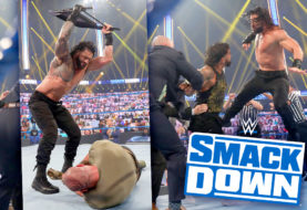 Roman Reigns Taps Out Braun Strowman, Has Epic Confrontation with Jey Uso on Season Premiere of WWE Smackdown