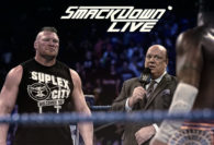 Brock Lesnar and Paul Heyman Challenge Kofi Kingston to Defend the WWE Title on the Smackdown Fox Premiere