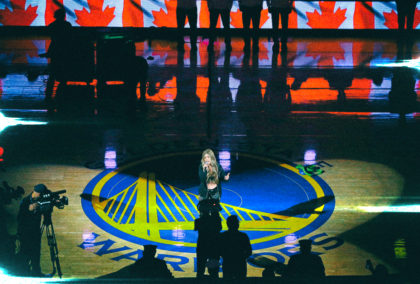 "Reviver Music's Tenille Arts Performs ""O Canada"" at NBA Finals"