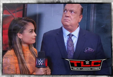 Paul Heyman Talks NASCAR ... at WWE TLC