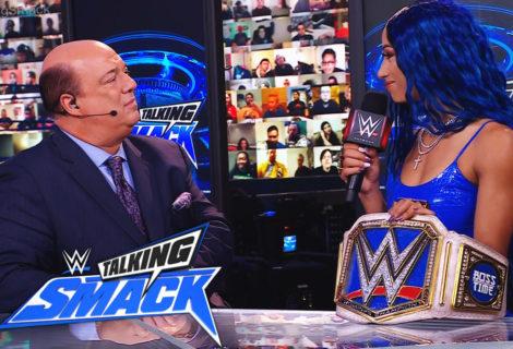 Sasha Banks Discusses Bianca Belair on WWE Talking Smack