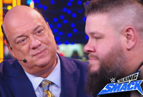 Click Here for the Entire Unedited Paul Heyman - Kevin Owens Confrontation on WWE Talking Smack