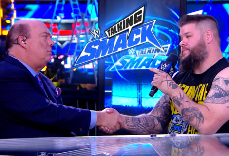 Kevin Owens Confronts Paul Heyman on WWE Talking Smack on FS1