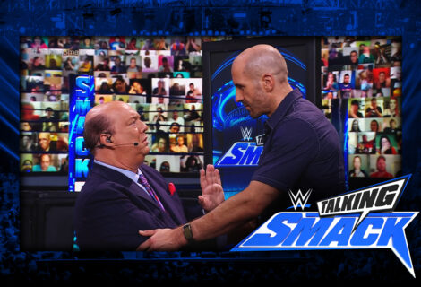 WWE #TalkingSmack: Cesaro Gives Paul Heyman the Silent Treatment
