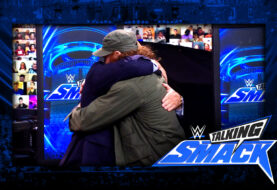 "WWE #TalkingSmack: Sami Zayn Declares ""I AM Dance"" and Hugs it Out with Paul Heyman"