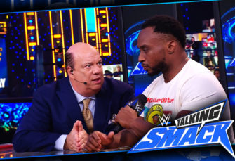 Big E Appears on WWE #TalkingSmack ... and Shares a Most Interesting Moment with Paul Heyman