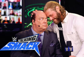 #BreakingEdge A Format-Busting, Jaw Dropping Interaction Between Edge and Paul Heyman on WWE #TalkingSmack Sets the Scene For WrestleMania