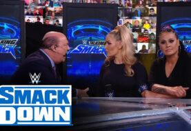"WWE #TalkingSmack: Natalya and Tamina Get the Paul Heyman ""Motivation"" Speech"