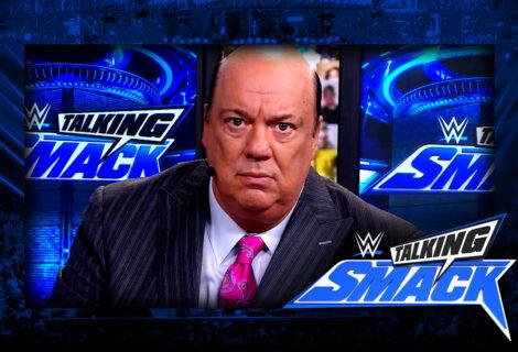 WWE #TalkingSmack #BreakingNews: Paul Heyman Accepts Rey Mysterio's Challenge to Roman Reigns for HIAC