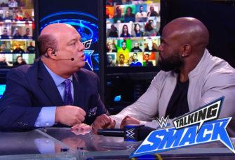 Here's Paul Heyman's Emotional Pep Talk with Apollo Crews on WWE Talking Smack