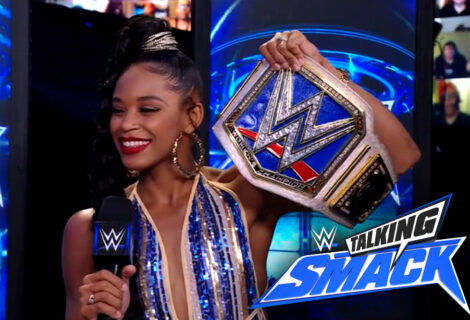 WWE #TalkingSmack: Paul Heyman Gives Bianca Belair a Tough Talk