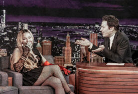 Madonna Flashes on The Tonight Show