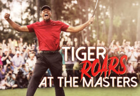 Tiger Roars at the Masters