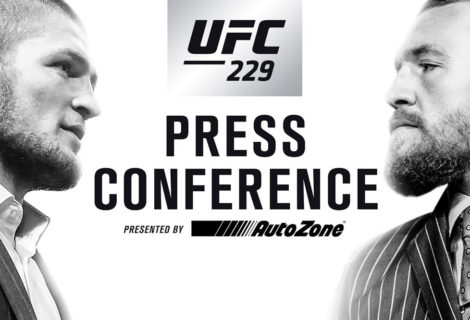 Watch the UFC 229 Press Conference Live NOW!