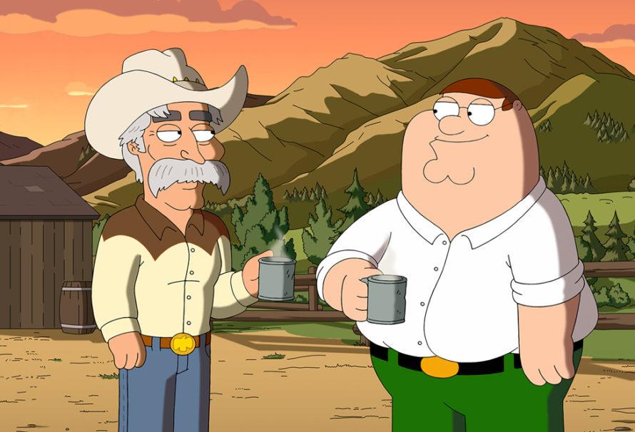 "Sam Elliott Brings ""Wild Wild West"" to ""Family Guy"""