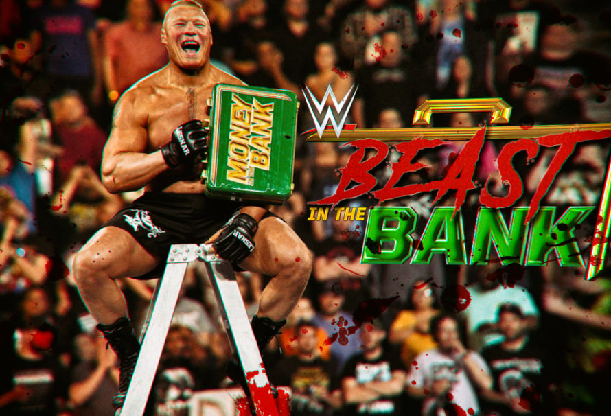Brock Shocks at WWE Money in the Bank