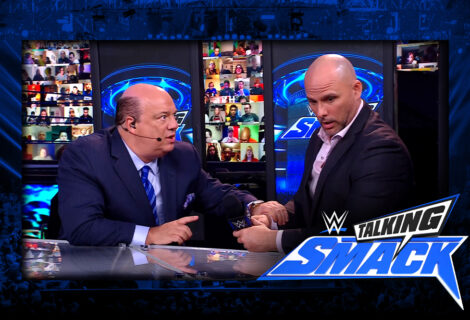 WWE #TalkingSmack: Paul Heyman Explains How Adam Pearce's WrestleMania Main Event Ruling is Dangerous for Edge and Daniel Bryan